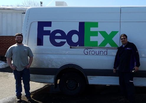 FedEx Ground available for precision fasteners