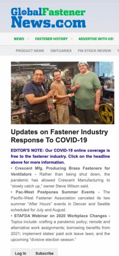 Global Fastener News