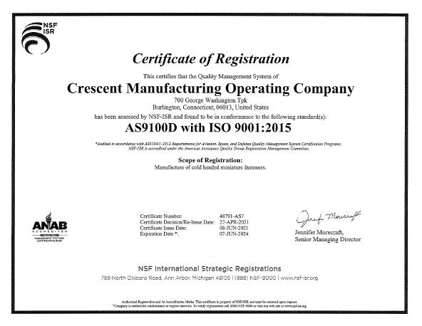 ISO cert 202107-202407