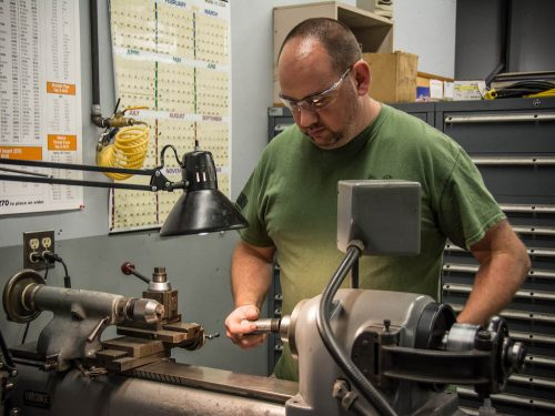 in-house tooling at Crescent Manufacturing