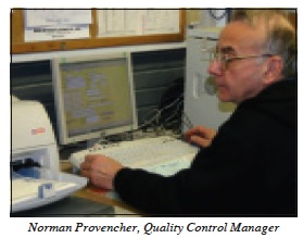 Norman Provencher Quality Control Manager